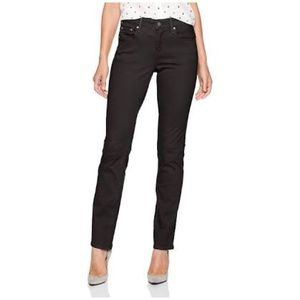 LEVI'S 505 Straight Fit Faded Black Jeans 27